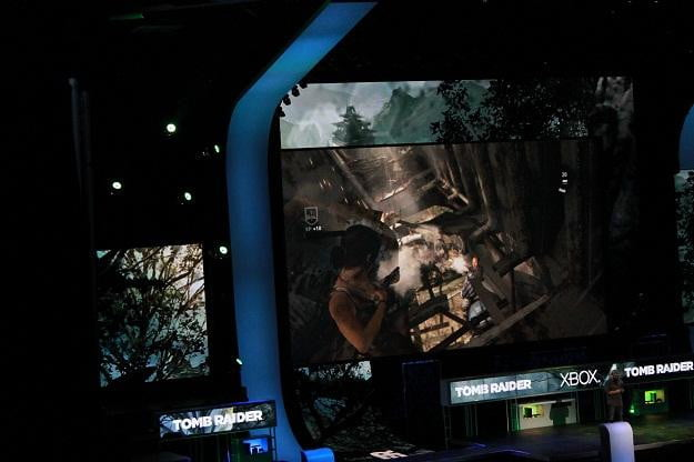 Tomb Raider at Microsoft at E3