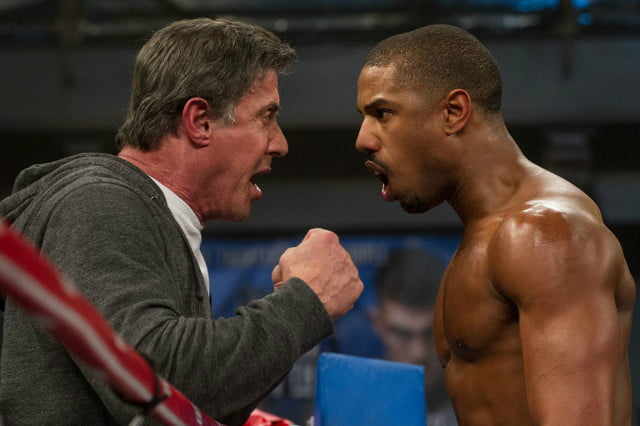 creed sequel sylvester stallone top