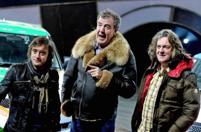 amazon boss admits top gear hosts were very expensive photo