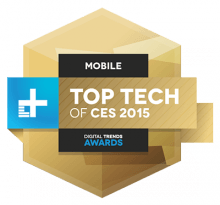 top tech of ces 2015 awards mobile