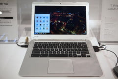 Hands on: Toshiba Chromebook