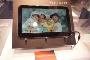 Toshiba Concept Tablets - CES 2012 - 13.3-inch tablet - Front