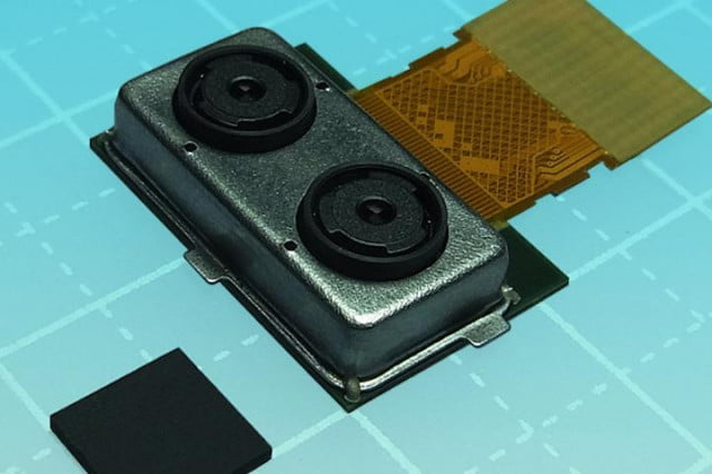 toshina dual lens module refocuses smartphone pictures toshiba camera