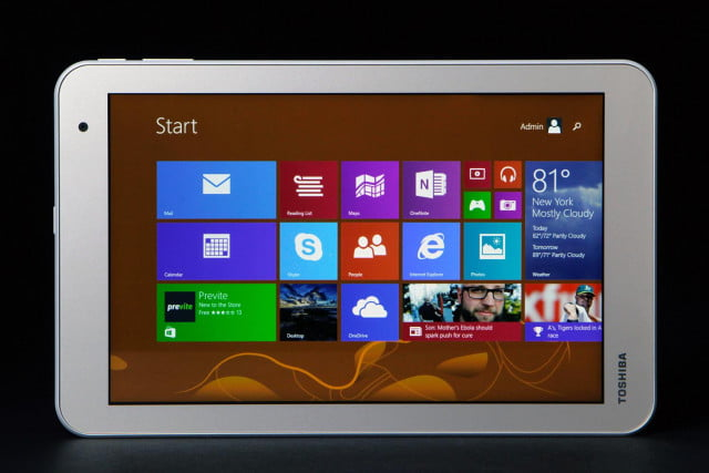 TOSHIBA Encore 2 review screen front