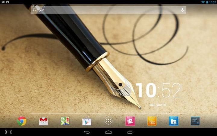 toshiba excite write review excitewrite screenshot