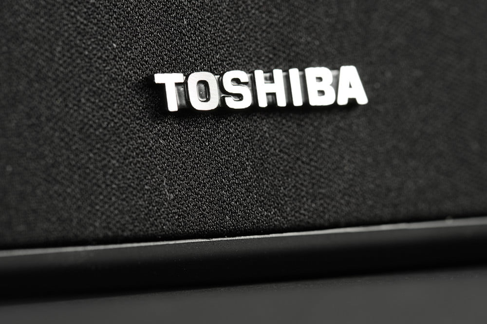 Toshiba Mini 3D Review soundbar grill
