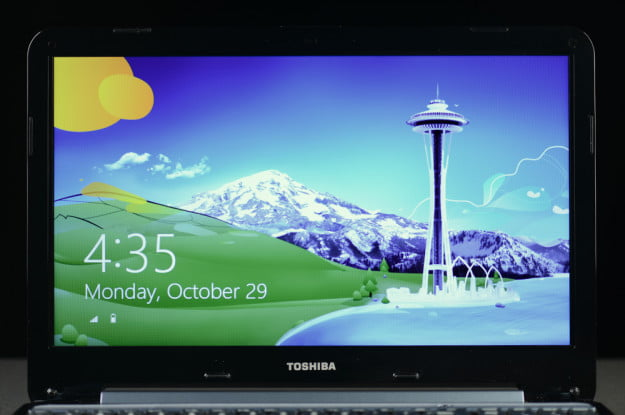 Toshiba Satellite S955 review display