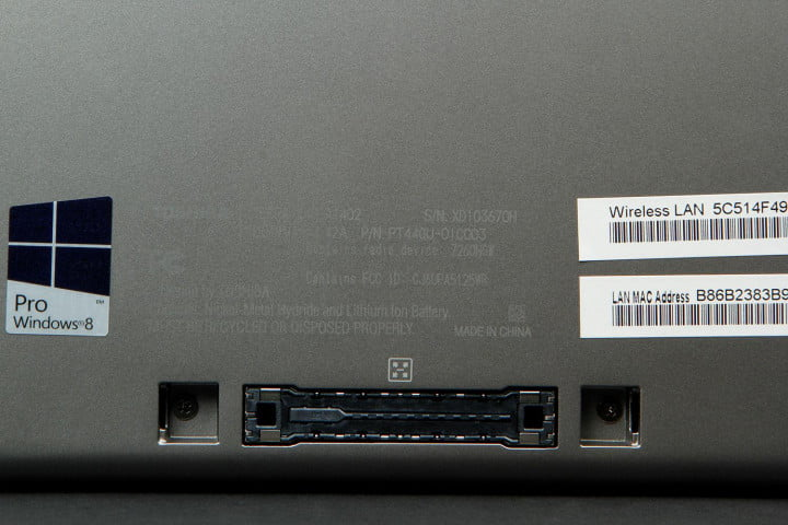 toshiba tecra z  review back port