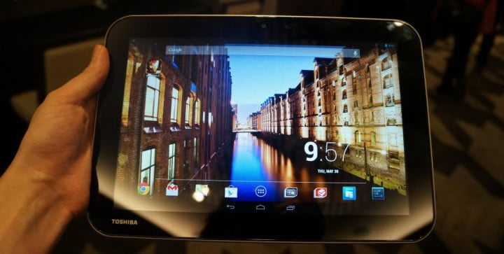 are toshibas new android tablets worth getting excite ed about toshiba pure