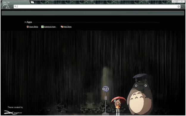 Totoro Rainy Day Theme