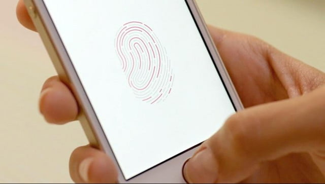 iPhone 5s Touch ID confirmation