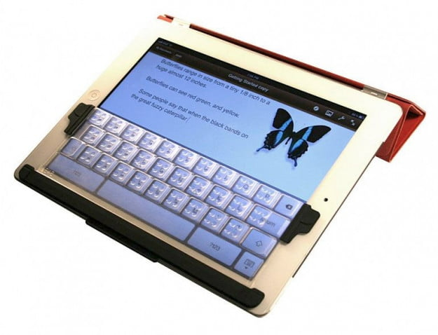 TouchFire iPad keyboard