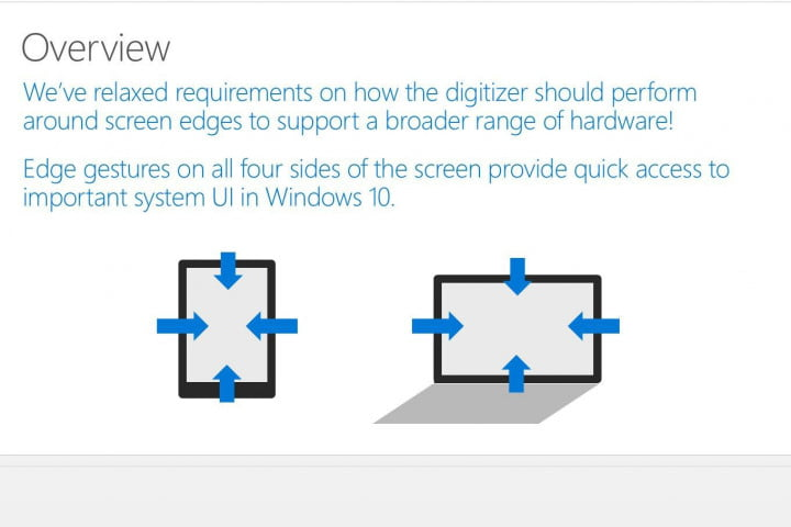 new windows  touchpad gestures revealed winhec