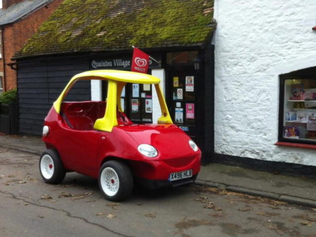 british mechanic builds roadworthy version classic kids car