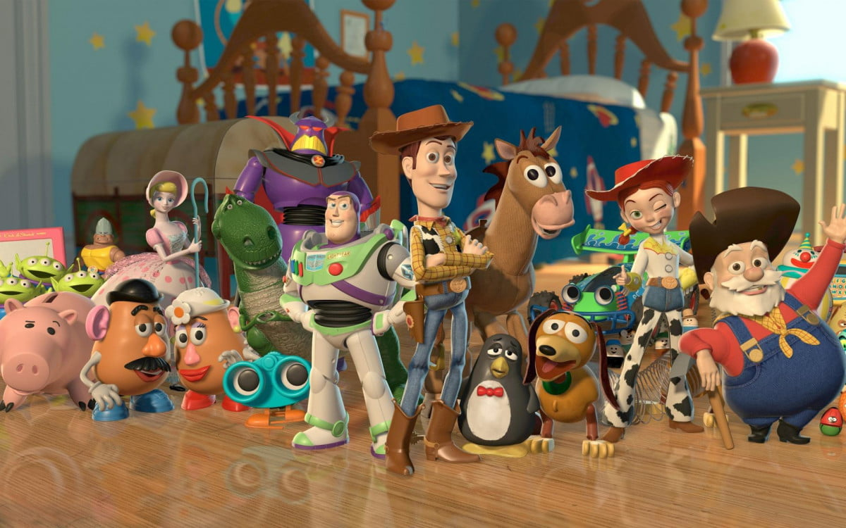 toy story  hitting theaters