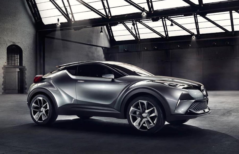 toyota c hr geneva debut specs news rumors digital trends. Black Bedroom Furniture Sets. Home Design Ideas