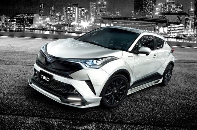 toyota c hr trd news specs performance pictures kit tuner