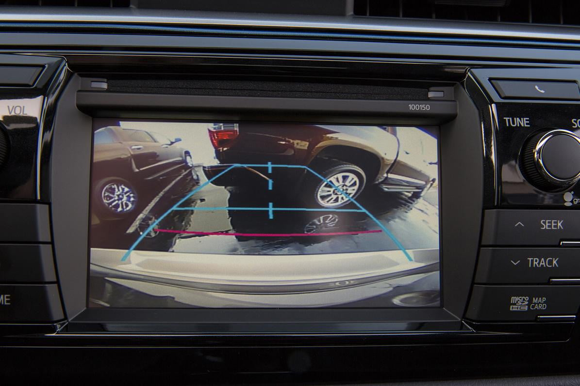 new cars required rear view cameras  toyota corolla camera