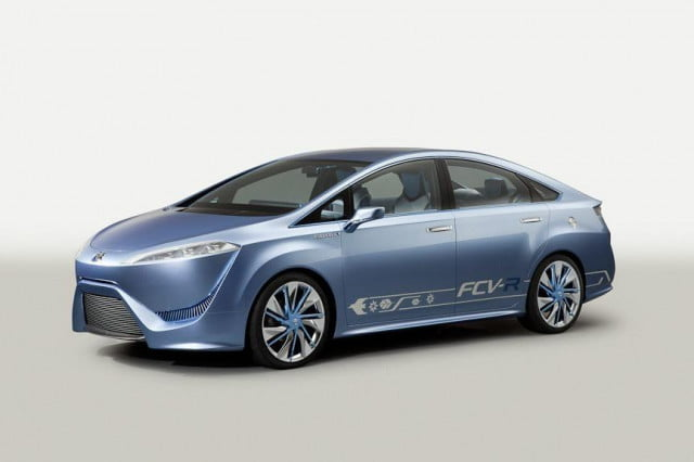 pump it up california to get  new hydrogen stations by toyota fcv r concept x