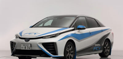 Toyota Fuel Cell Sedan rally car