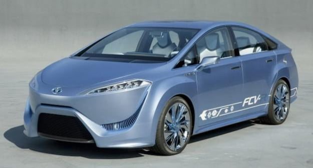 2015 Toyota FCV-R Fuel-Cell Car