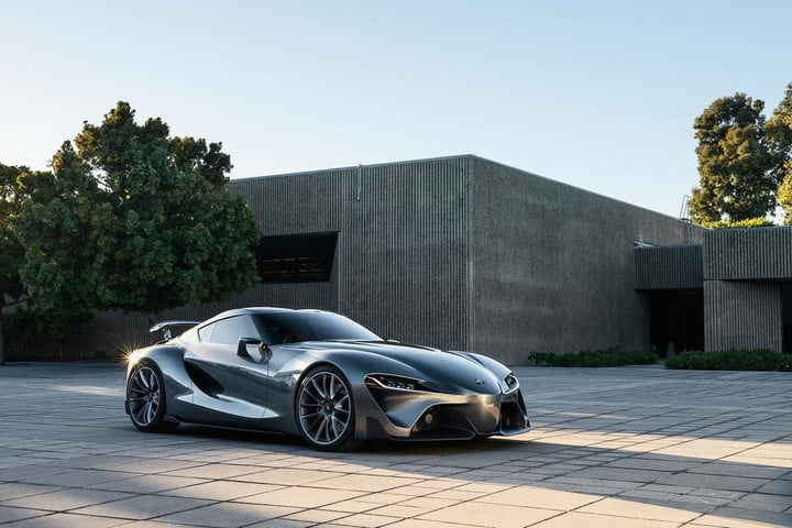 Toyota FT-1 front angle