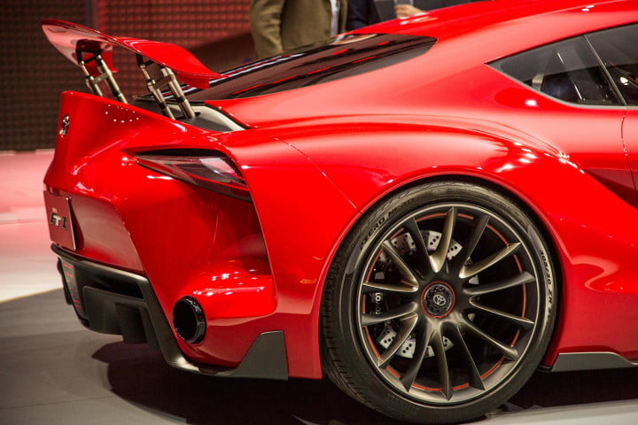 toyota taking detroit auto show storm downright stunning ft  concept rear macro