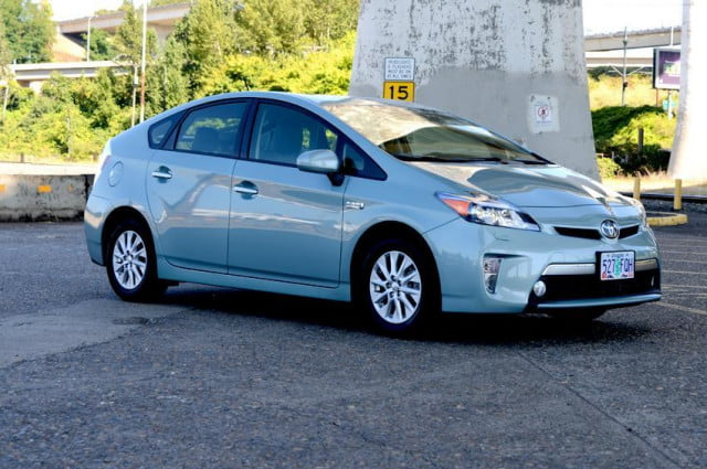 dont diss the prius ultimate hybrid car is set for an update and  mpg toyota plugin exterior right side angle