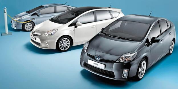Toyota Prius propels to top three in global car sales