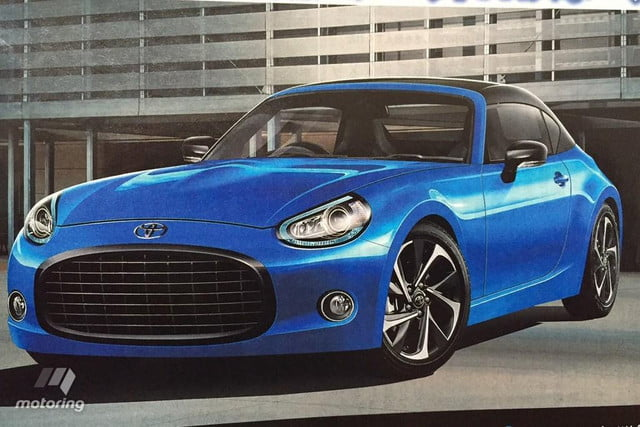 toyota small fr concept rumors news performance rendering