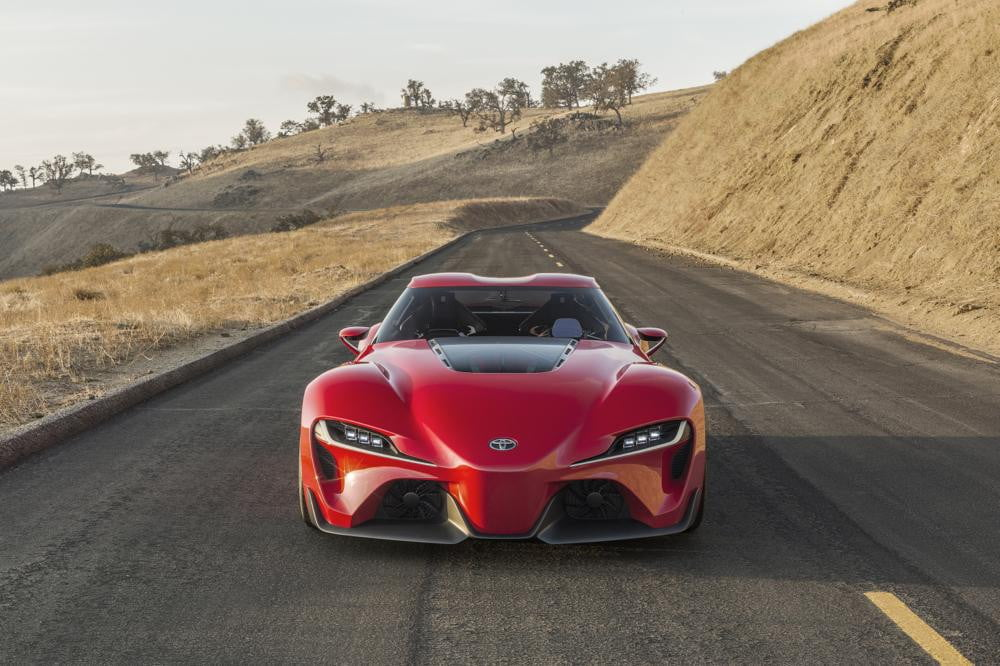 Toyota FT-1 concept (feature)