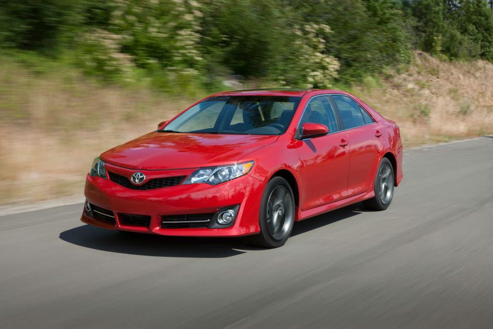 next toyota camry all have more exciting styling  se