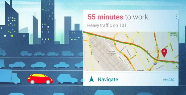 Google Now (promo Traffic)