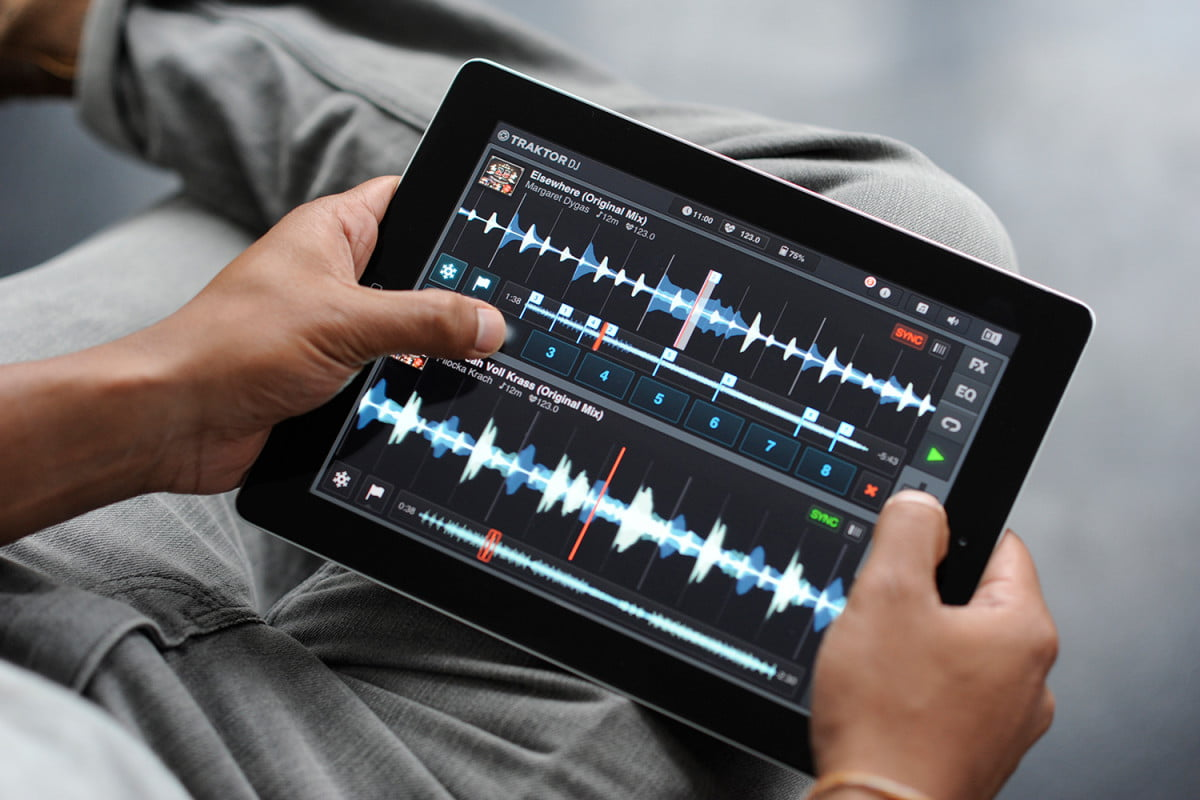best ipad apps traktor dj ios