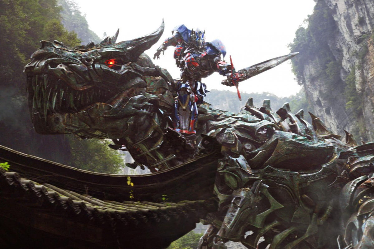 transformers age extinction new trailer offers dinobot action of