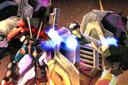 Transformers Prime game review 2