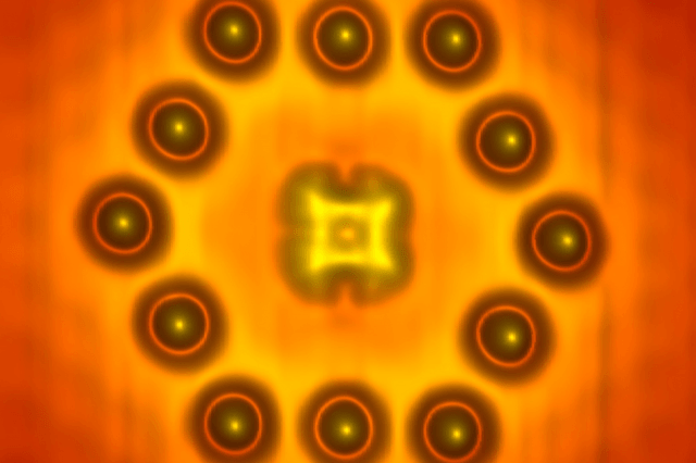 research team builds transistor from just a dozen atoms