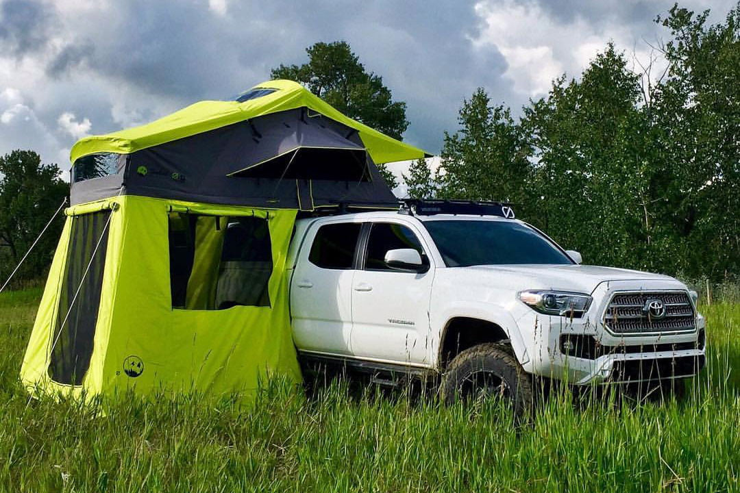 Used Car Top Tents : Best rooftop tents for glamping with your truck or car