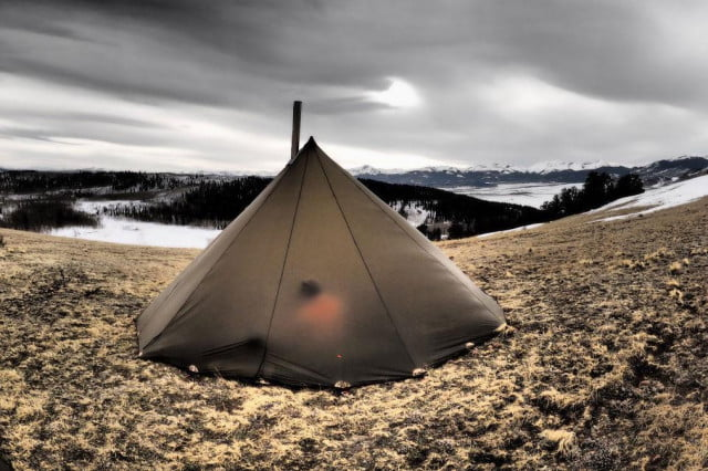 Trekking: Trade in your four-man tent for a tipi with Kifaru