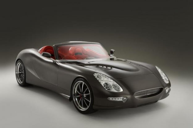 Trident Iceni Grand Tourer front three-quarter view