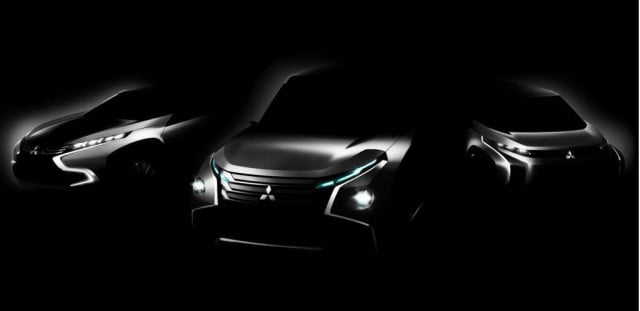 mitsubishi to debut two plug in hybrid concepts at the  tokyo motor show teaser