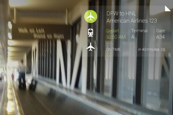 google wants glass adds new travel apps make happen tripit screen