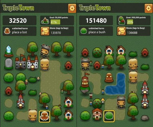 triple town kindle fire game app