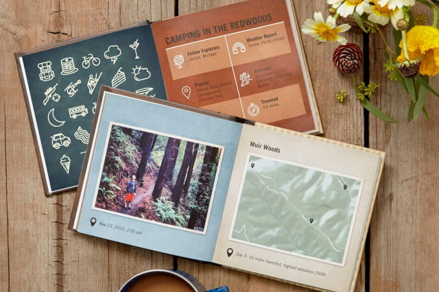 TripPix lets you create beautiful travel photo books