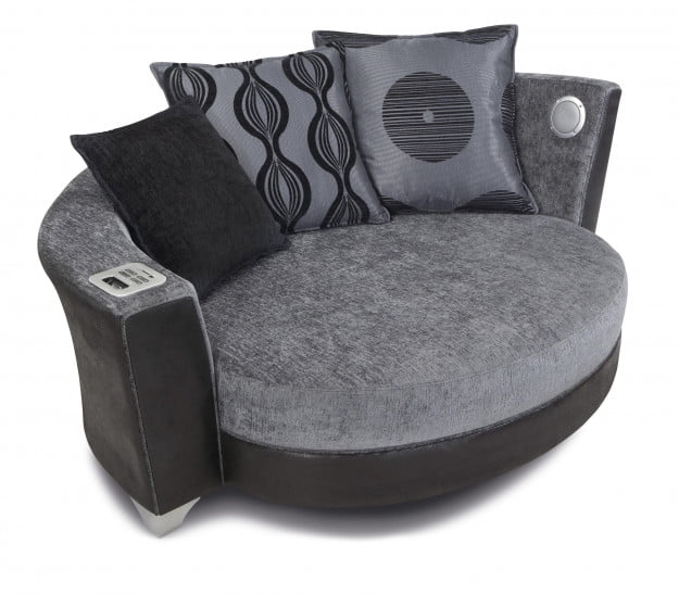 Trophy Cuddler Audio Sofa