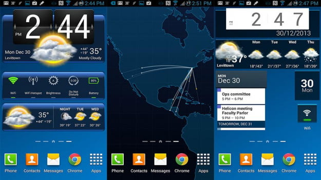 Try some new widgets