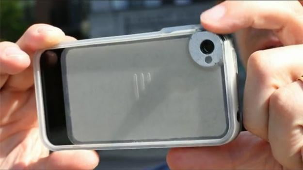 Trygger's Kickstarter-funded iPhone case has a built-in polarizing lens
