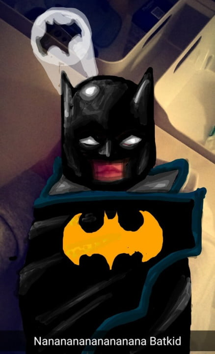 snapdad turns photos of his son into drawings superheroes tumblr nzbm  ujq qifdqho