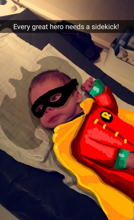 snapdad turns photos of his son into drawings superheroes tumblr nzhyzzipzv qifdqho