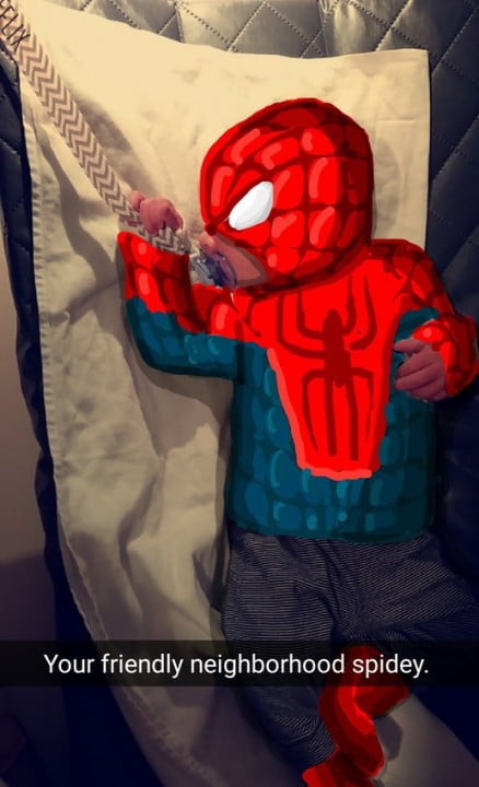 snapdad turns photos of his son into drawings superheroes tumblr nzikbjmvfu qifdqho